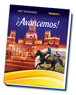 Avancemos Holt Spanish Level 2 National Edition Unit 1 Resource Book